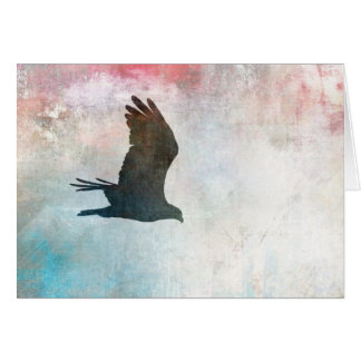 Osprey Silhouette Blank Card