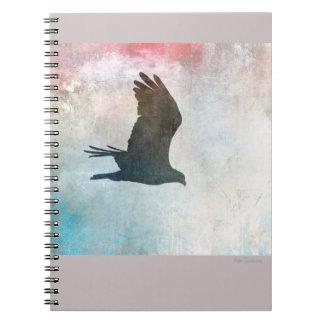 Osprey Silhouette Spiral Notebook