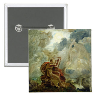 Ossian Conjures Up the Spirits 2 Inch Square Button