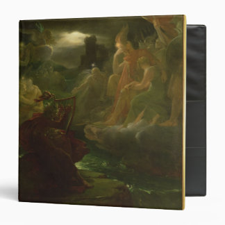 Ossian Conjuring up the Spirits of the River 3 Ring Binder