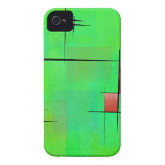 Ossipiana V1 - digital abstract iPhone 4 Covers