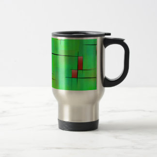 Ossipiana V1 - digital abstract Travel Mug