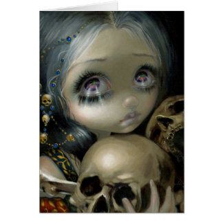 """Ossuary:  The Collector"" Greeting Card"