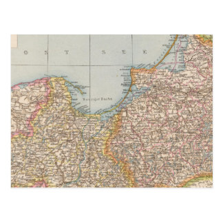 Ost u Westpreussen, East and West Prussia Postcard