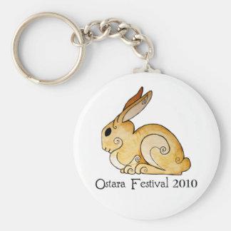 Ostara Bunny1 Keychain