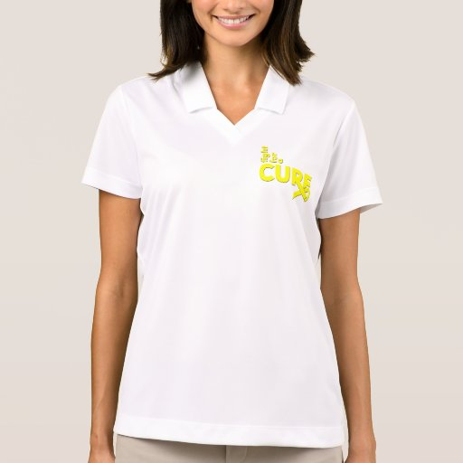 Osteosarcoma Fight For A Cure Polo Shirt