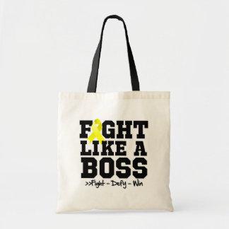 Osteosarcoma Fight Like a Boss Bag