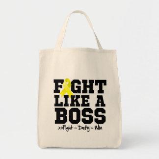 Osteosarcoma Fight Like a Boss Bags