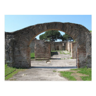 Ostia Antica, Italy - founded around 620 B.C Postcard