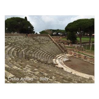 Ostia Antica, Italy Postcard