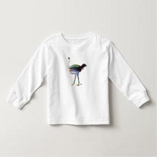 Ostrich art toddler t-shirt