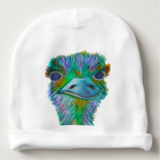 Ostrich Baby Beanie