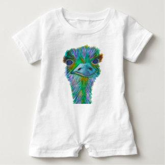 Ostrich Baby Romper
