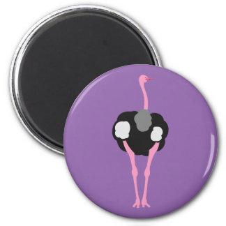 Ostrich Bird Magnet