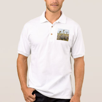 Ostrich Bird Polo Shirt