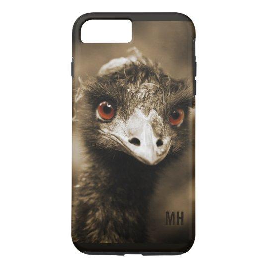 Ostrich custom monogram phone cases