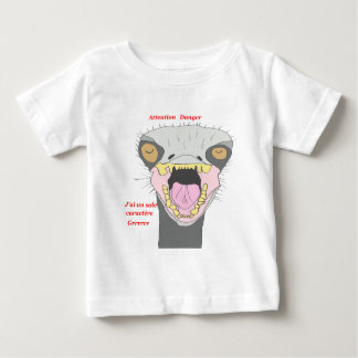 OSTRICH IN ANGER 1.PNG BABY T-Shirt