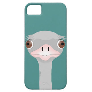 Ostrich iPhone SE + iPhone 5/5S, Barely There Phon Case For The iPhone 5
