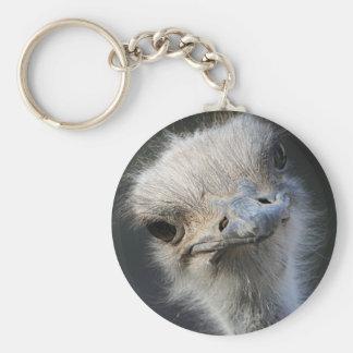 Ostrich Keychain