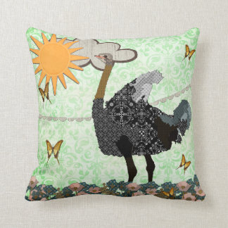 Ostrich You Are My Sunshine Mojo Pillow