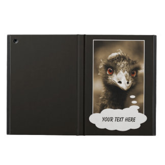 Ostriches Look custom cases Case For iPad Air