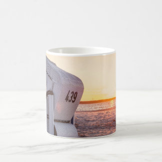 Ostsee sunset coffee mug