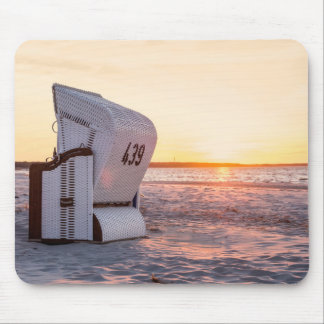 Ostsee sunset mouse pad