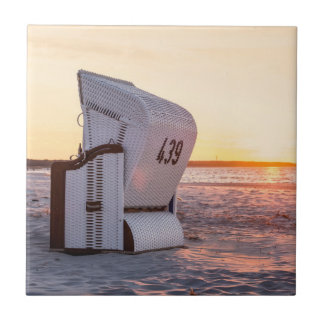 Ostsee sunset tile