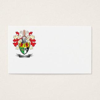 O'Sullivan Coat of Arms Business Card