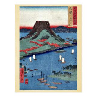 osumi by Ando, Hiroshige Ukiyoe Postcard
