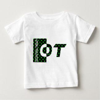OT black and green Baby T-Shirt