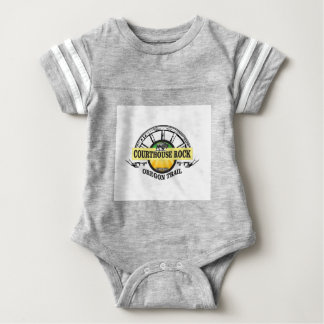 Ot courthouse rock baby bodysuit