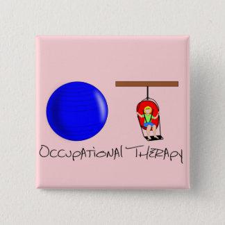 OT Initials 2 Inch Square Button
