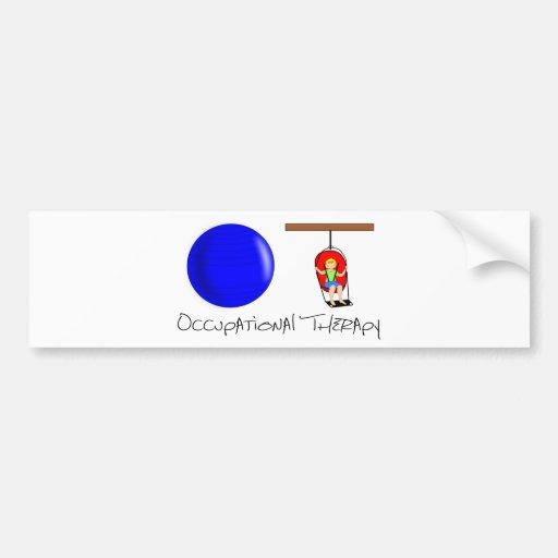 OT Initials Bumper Sticker