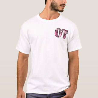 ot pink and black T-Shirt