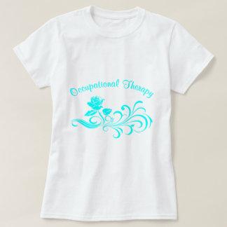 ot rose scroll aqua T-Shirt
