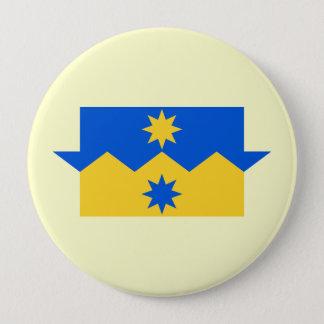 Otago, New Zealand 4 Inch Round Button