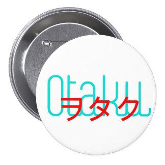 Otaku button 3in