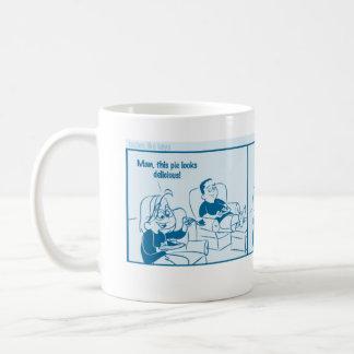 Otalia comic - Peanut Butter Bliss Basic White Mug