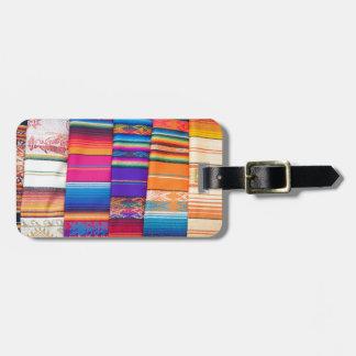 Otavalo Market Luggage Tag