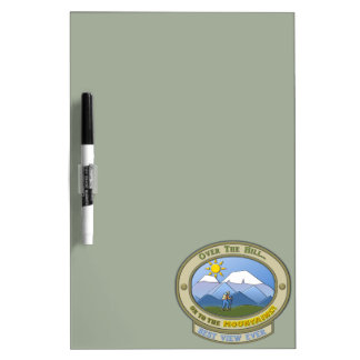 """OTH..., Dry-Erase Board, 12"""" x 8"""" (with pen) Dry Erase Board"""