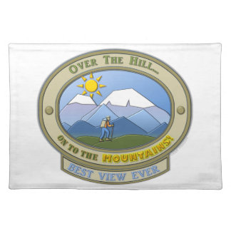 """OTH..., Placemats 20"""" x 14"""" (100% Woven Cotten)"""