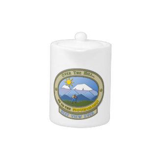 OTH..., Tea Pot, 11 oz., White Porcelain