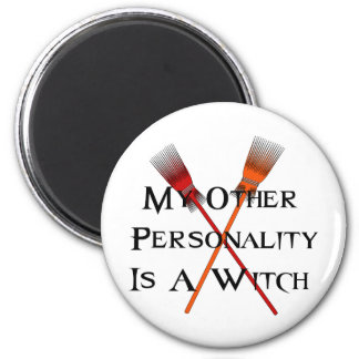 Other Personality Witch Magnet