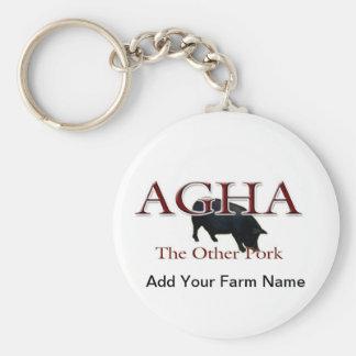 Other Pork, Add Your Farm Name Keychain