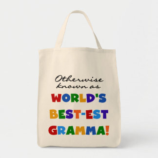 Otherwise Known as Best-est Gramma T-shirts Tote Bag
