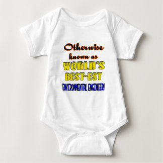 Otherwise known as world's bestest Environmental e Baby Bodysuit