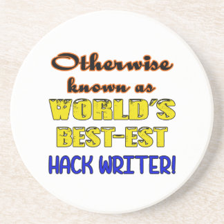 Otherwise known as world's bestest Hack writer Beverage Coaster