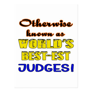 Otherwise known as world's bestest Judges Postcard