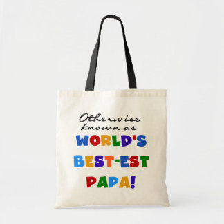 Otherwise Known Best-est Papa Tshirts and Gifts Tote Bag